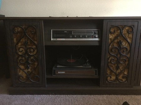 Value of a Console Record Player/8-Track Tape Deck
