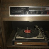 Value of a Console Record Player/8-Track Deck