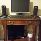 Value of a Mersman Desk - desk with computer on it