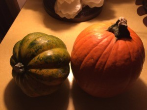 Cooking Leftover Pumpkin and Squash Decorations