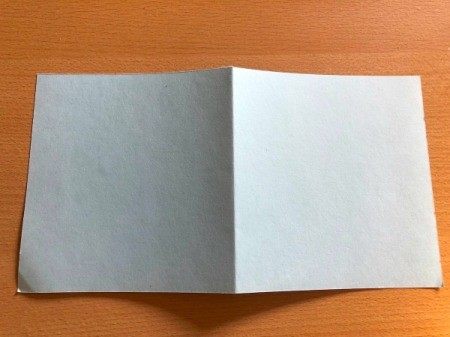 """Puffy """"Fleece Navidad"""" Card - fold paper in half and cut to desired size"""