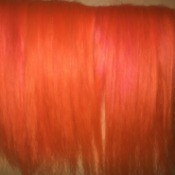 Toning Down Orange Hair Dye - orange hair
