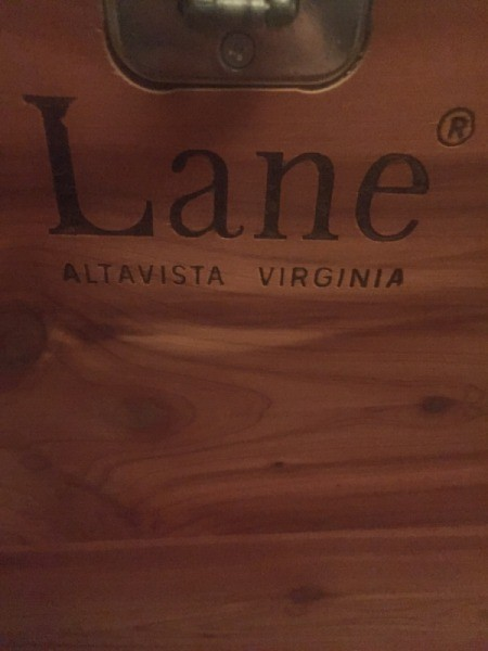 The brand mark for Lane furniture.