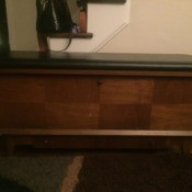 Info on a Sweetheart Lane Cedar Chest - two tone cedar chest