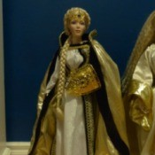 Value of a Franklin Mint Porcelain Doll  - Eowyn Lady Of Rohan