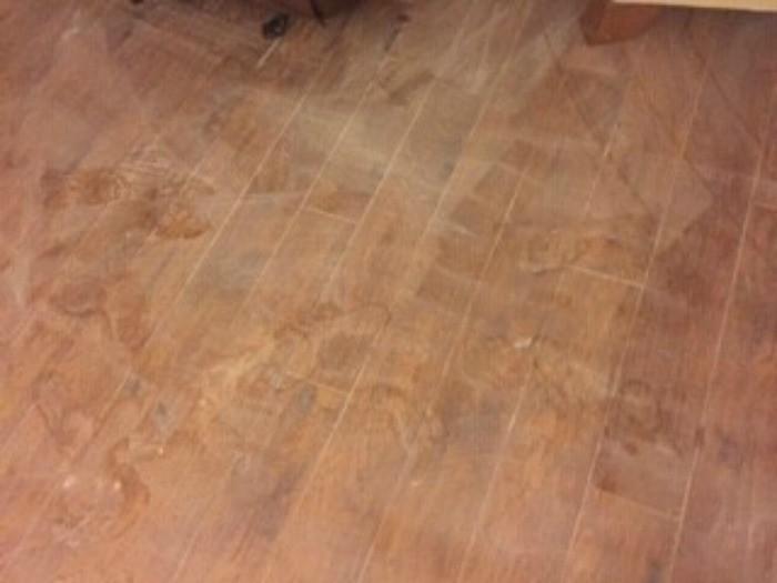 White Marks On Laminate Flooring Thriftyfun