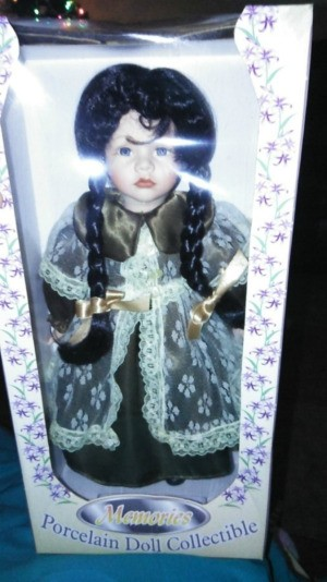 Value of a Memories Collectible Porcelain Doll