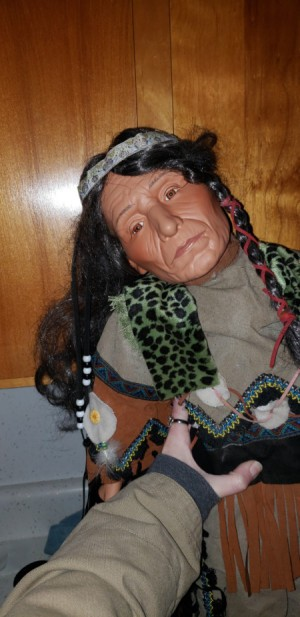 Identifying a Goldenvale Porcelain Doll - Native American doll