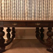Identifying a Table - table with heavy ornate legs