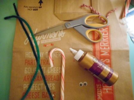 Reindeer Candy Cane - supplies