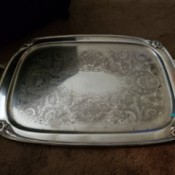 Value of a Silver Tray