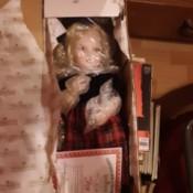 Value of an Ashton Drake Porcelain Doll - doll in box