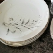 Value of W. S. George and Other Dishes - plates