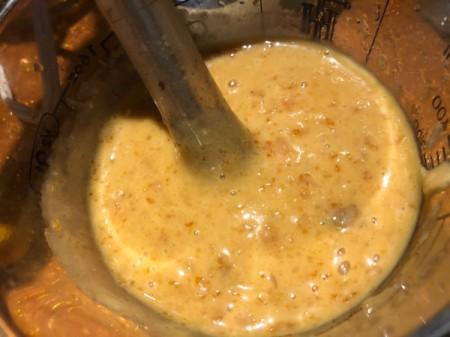 blending Citrus Bourbon Glaze