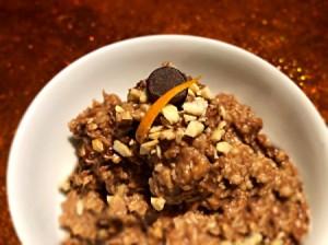 bowl of Chocolate Orange Cashew Oats
