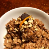bowl of Chocolate Orange Cashew Oats