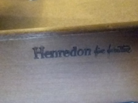 Value of a Henredon End Table