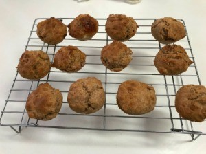 baked Muffins on wire racks