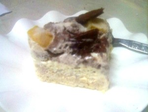 piece of Mango Float Dream Cake