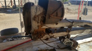 Identifying a Piece of Farm Equipment - closeup