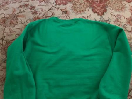 DIY Off-Shoulder Top - sweatshirt
