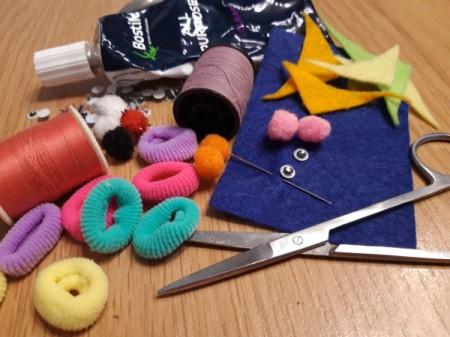 Teeny Tiny Dolly Slippers - supplies