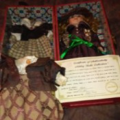 Value of Karis from the Ashley Belle Doll Collection - doll in case