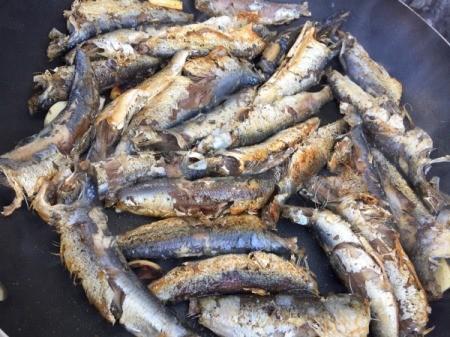 browned Sardines