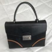 Repairing a Purse Handle - single handle purse