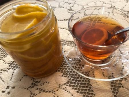 Honey Lemon Syrup