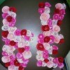 "Floral ""LOVE"" Valentine Decoration"