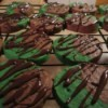 Choco/Mint Cookies on rack