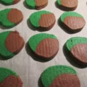 cut Choco/Mint Cookies