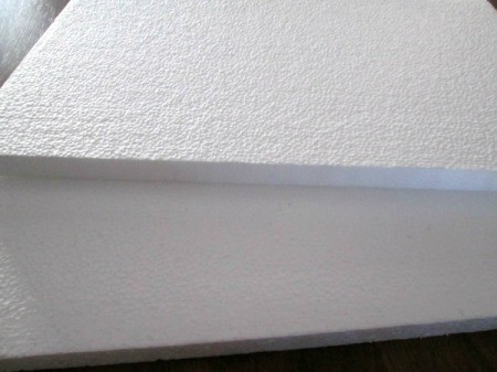 Making A Memory Board From Packing Materials - Styrofoam packing sheets