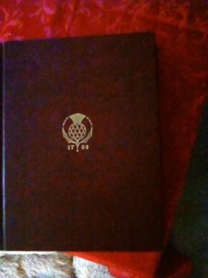 Value of Encyclopedia Britannica 1768 - dark red cover