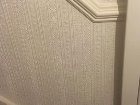 Finding Unidentified Textured Paintable Wallpaper