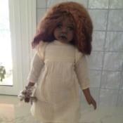Identifying a Porcelain Doll - Australian Aboriginal doll