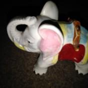 Value of Vintage Figurines - ceramic elephant figurine