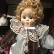 Cleaning a Porcelain and Stuffed Body Doll