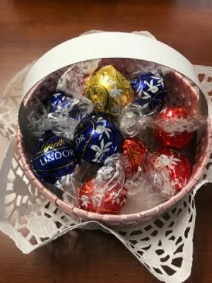 Candy Basket - closeup of candy basket