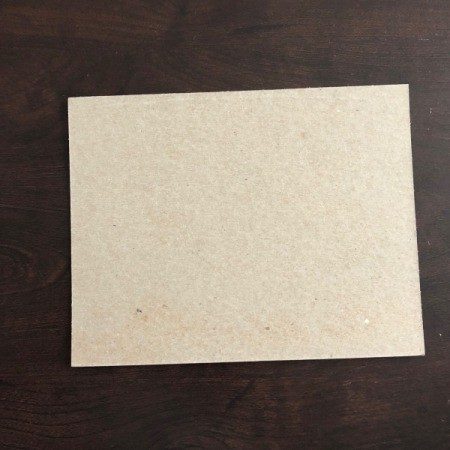 Eye Love You Valentine's Day Art Work - piece of cardboard notebook backing paper