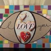 Eye Love You Valentine's Day Art Work