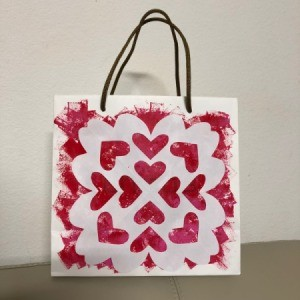 Valentine's Day Decorated Gift Bag