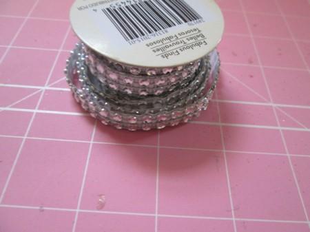 Double Duty Pin Cushion - ribbon