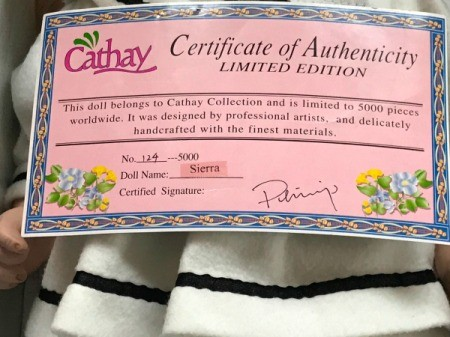 Value of a Cathay Porcelain Doll