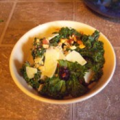 Kale Salad Magnifico in bowl