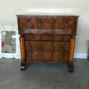 Identifying an Antique Chest - chest with 4 drawers