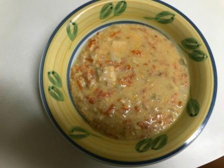 Tuna Cheddar Chowder in bowl