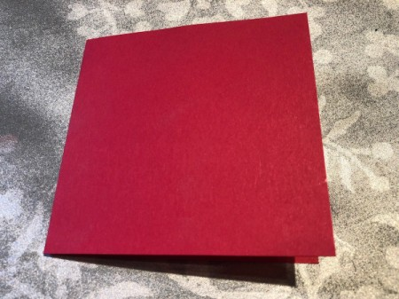 """""""I Knead You"""" Card - cut a rectangle of red paper and fold in half"""