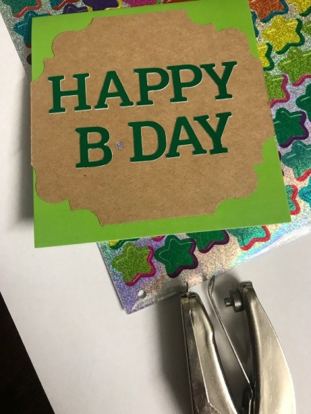 Redesigned Greeting Card  - birthday card